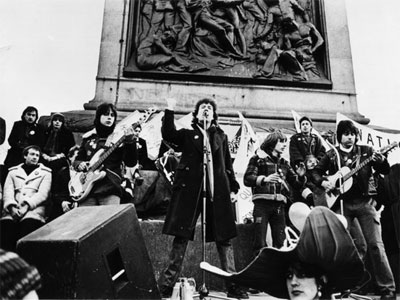 Gay News rally in Trafalgar Square 1978